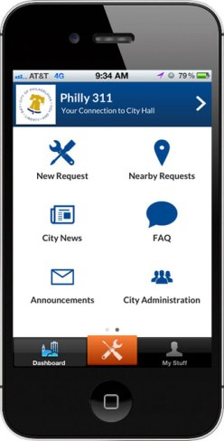 Philly311 Mobile App