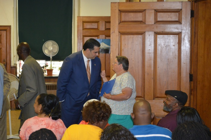 Rich Negrin at Frankford's PhillyRising's Citizen's Engagement Academy