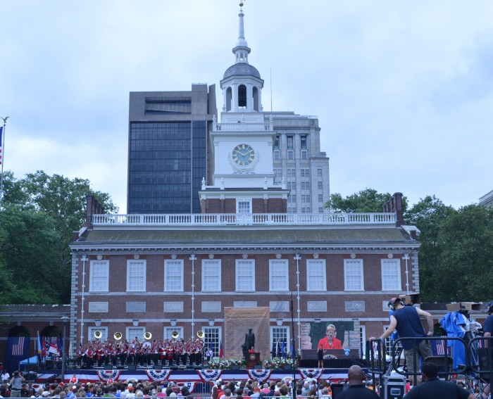 Independence Hall. July 4th, 2013