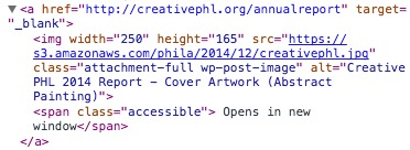 HTML Code Example of Accessibility